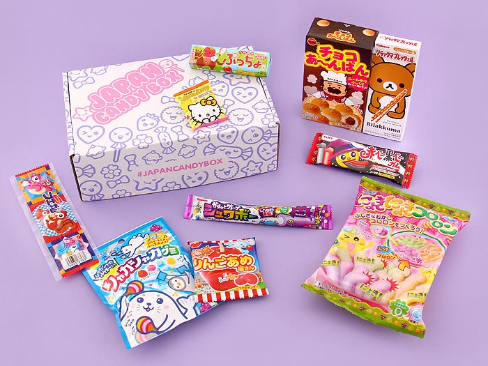 Japan Candy Box - October 2016