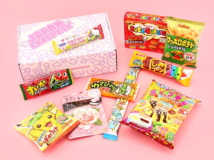 Japan Candy Box - December2016