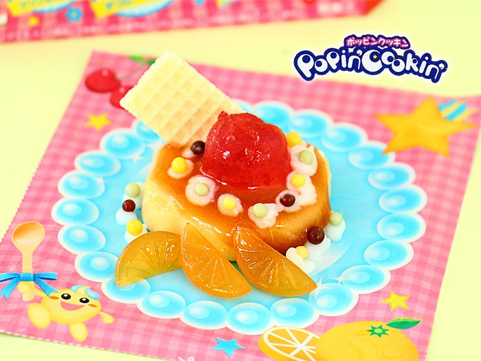 Popin' Cookin' Pudding Flan Parfait Kit DIY
