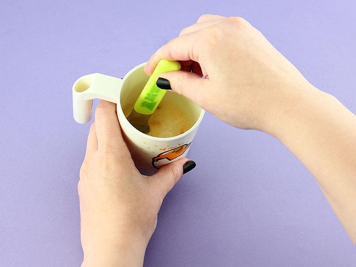 Heart Gudetama Pudding DIY Kit