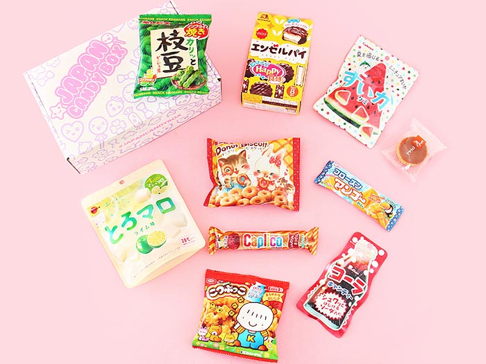Japan Candy Box - July 2017