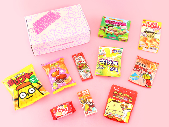 Japan Candy Box - October 2017