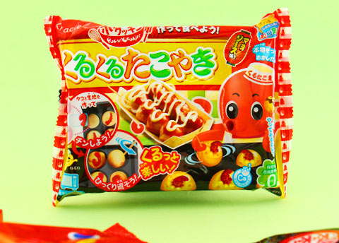 Popin' Cookin' Kuru Kuru Takoyaki DIY Candy Kit