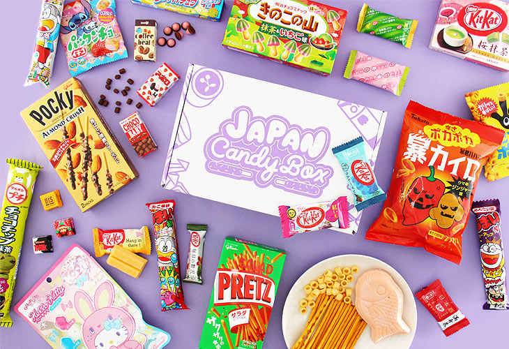 Get these Japanese sweets