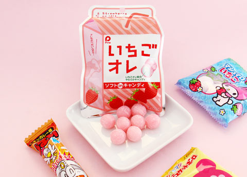 Pine Ichigo Milk Candy