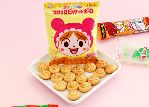 Fujiya Anpanman Egg Boro Biscuits