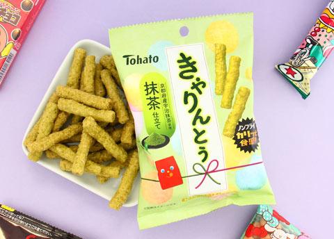 Tohato Caramel Corn - Matcha Green Tea
