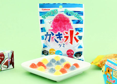 Kabaya Kakigori Shaved Ice Gummies