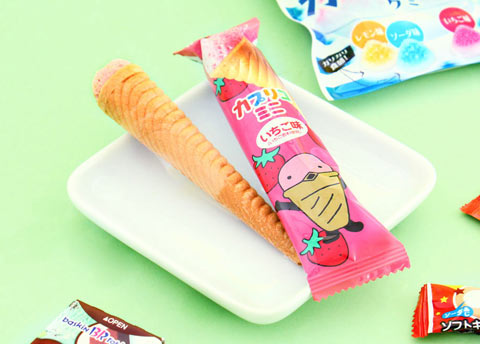 Glico Caplico Mini Ice Cream Snack
