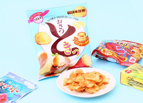 Osatsu Doki Sweet Potato Chips - Pancake Flavor