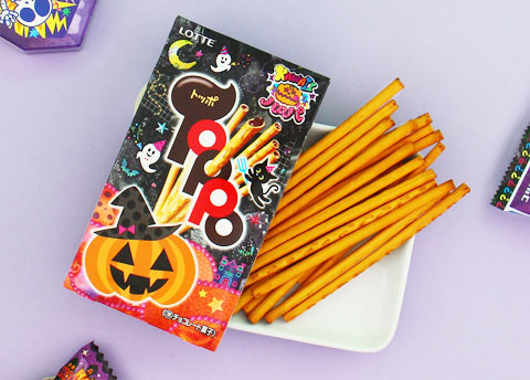 Lotte Toppo Halloween Cookie Sticks