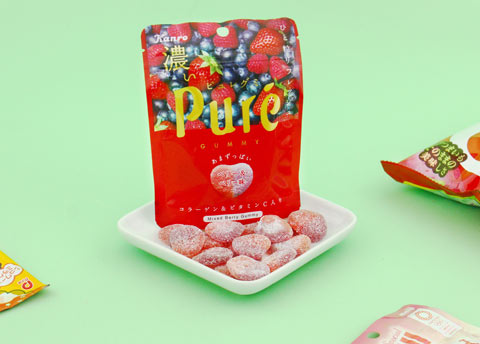 Kanro Pure Gummy - Mixed Berry Flavor