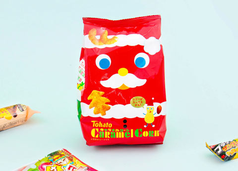 Tohato Christmas Caramel Corn