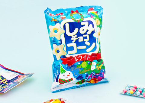 Ginbis Christmas Shimi Choco Corn Snack