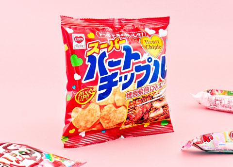 Yachin Heart Chipple Snack