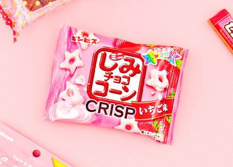 Shimi Crisp Strawberry Corn Stars