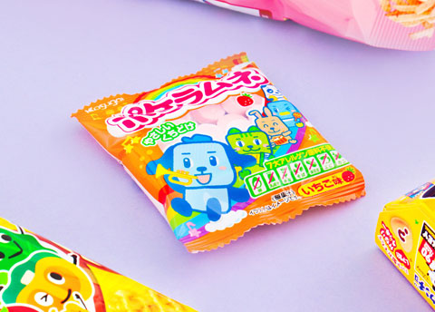 Kasugai Strawberry Ramune Candy
