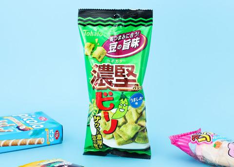 Tohato Bino Bold & Hard Salted Edamame Snacks