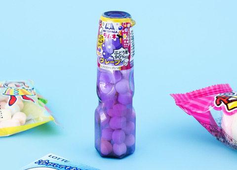 Morinaga Grape Ramune Bottle Candy