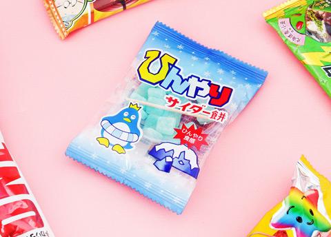 Penguin Cider Mochi Candy