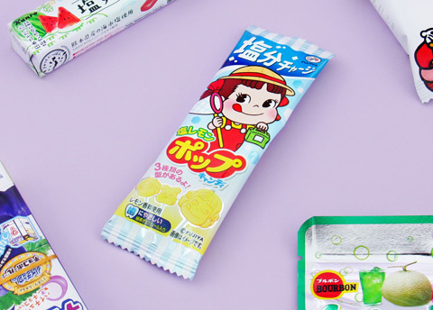 Peko Chan Salty Lemon Lollipop