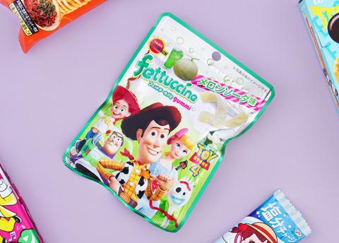 Toy Story Fettuccine Melon Soda Gummies