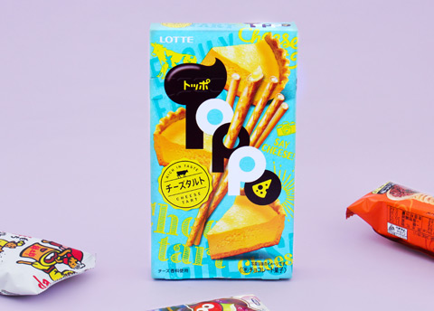Toppo Cheese Tart Biscuit Sticks