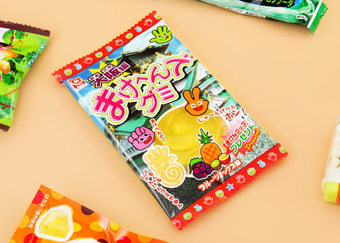"Sugimotoya ""Don't Lose"" Fruit Mix Gummies"