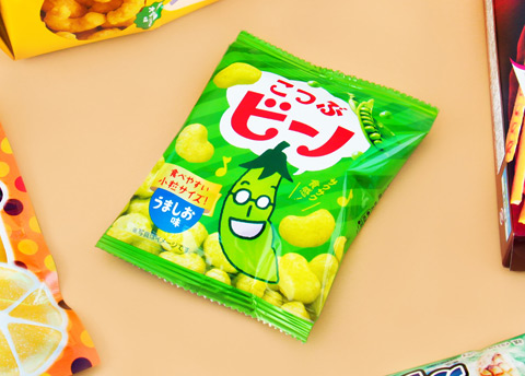Tohato Mini Bino Lightly Salted Pea Snacks