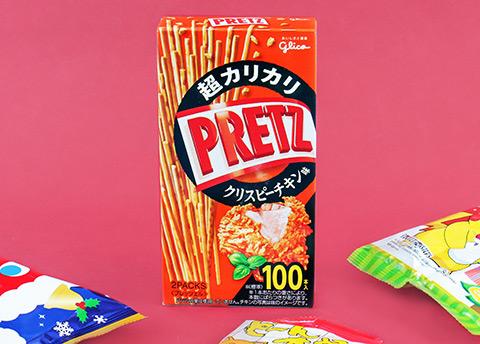 Pretz Crispy Fried Chicken Biscuit Sticks