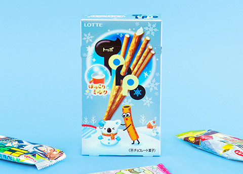Toppo Hokkori White Milk Chocolate Pretzel Sticks