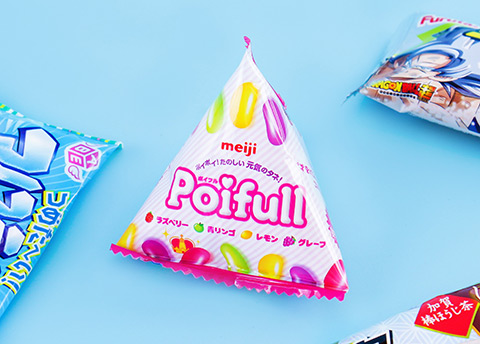 Meiji Poifull Mix Fruit Gummies
