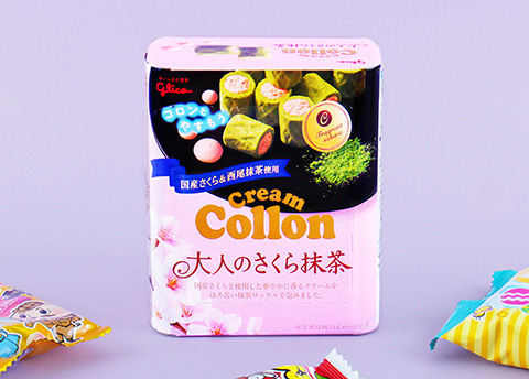 Cream Collon Sakura & Matcha Biscuit Rolls