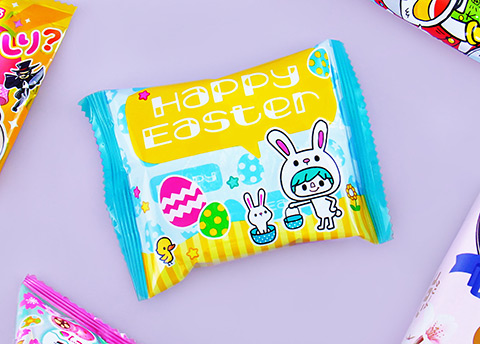 Lotte Easter Custard Cake