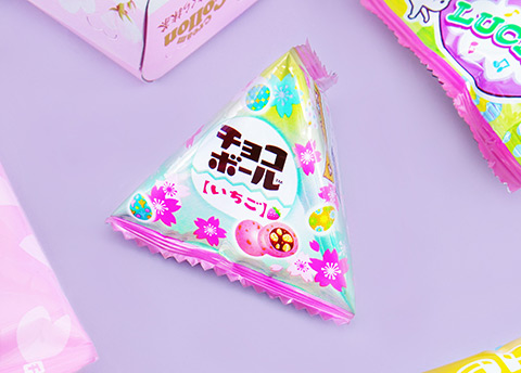 Morinaga Easter Strawberry Chocoball