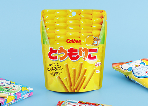 Calbee Tomoriko Corn Sticks