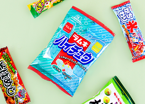 Hi-Chew Ramune & Blue Hawaii Chewy Candies