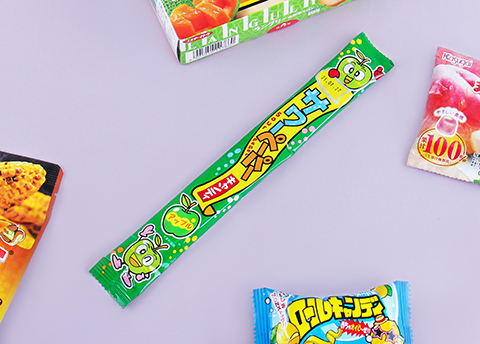 Sour Apple Paper Candy Strip