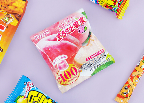 Kasugai 100% Fruit Juice Gummies
