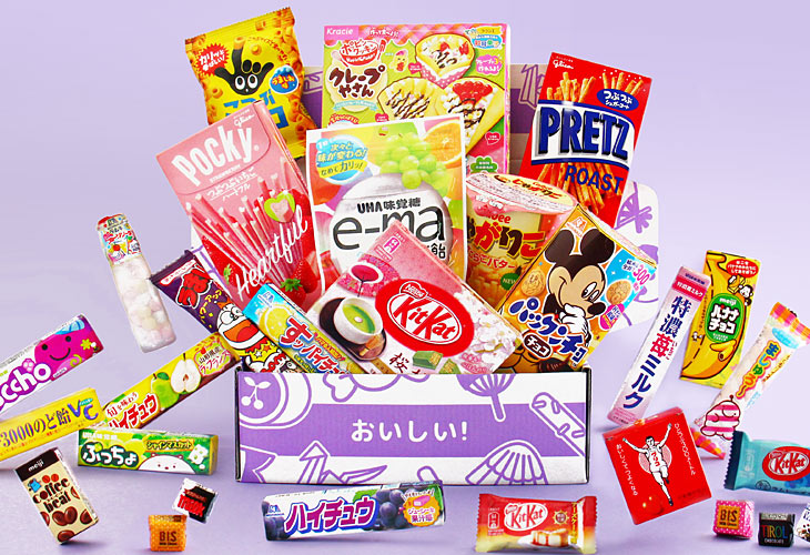 Monthly Japanese snack box