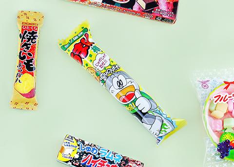 Umaibo Nori Shio Corn Puff Snack