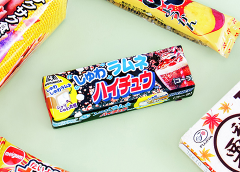 Hi-Chew Fizzy Ramune Cola Chewy Candy