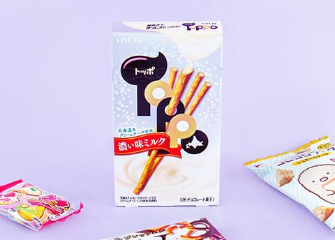 Toppo Rich Milk Biscuit Sticks