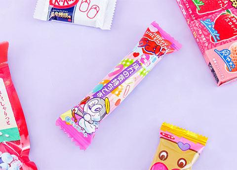 Umaibo Chocolate Valentine's Day Puff Stick