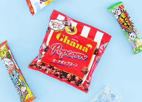 Lotte Ghana Chocolate Popcorn