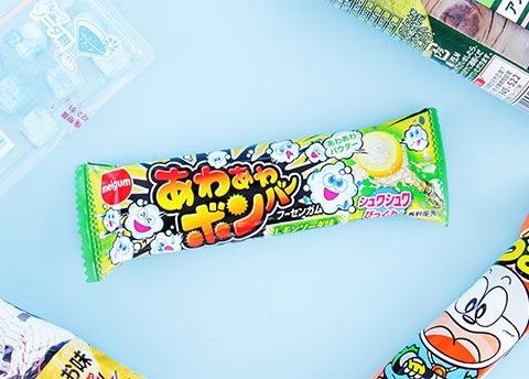 Meigum Bubbly Bomber Lemon Soda Bubble Gum