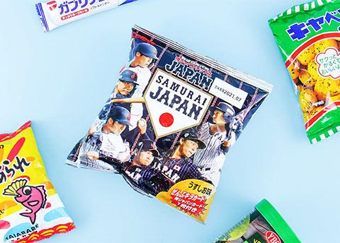 Calbee Samurai Japan Baseball Potato Chips