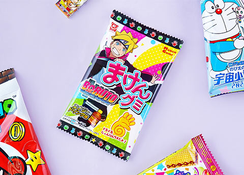 Boruto Energetic Gummy Candy