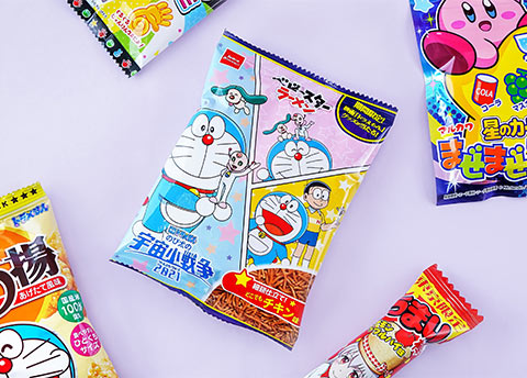 Doraemon Bonchiage Rice Snacks