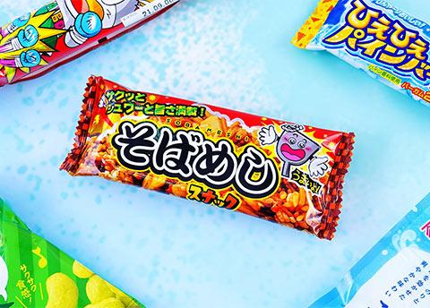 Soba-Meshi Noodle Snacks